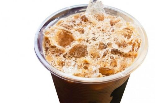 холодный кофе с кока- колой