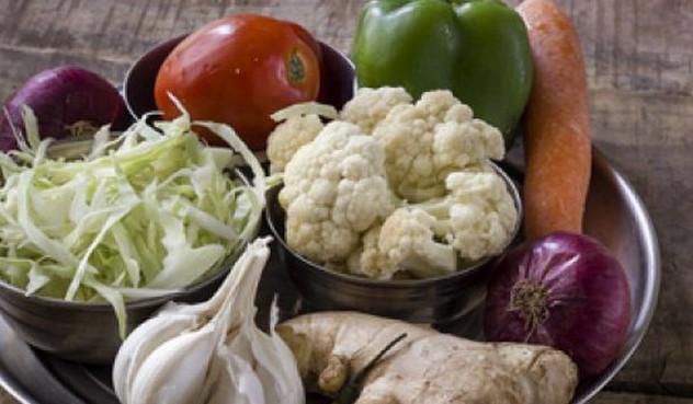 овощные ингредиенты