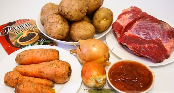 рецепт тушеной картошки в мультиварке поларис с фото