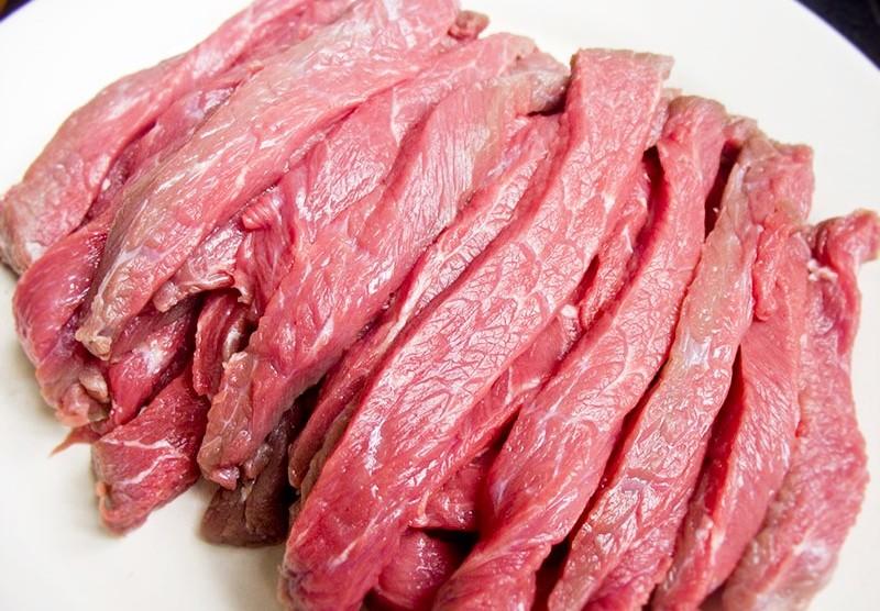 правильная резка мяса