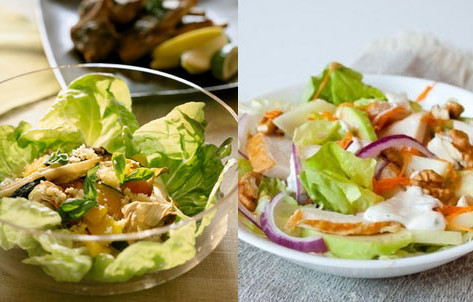 два блюда