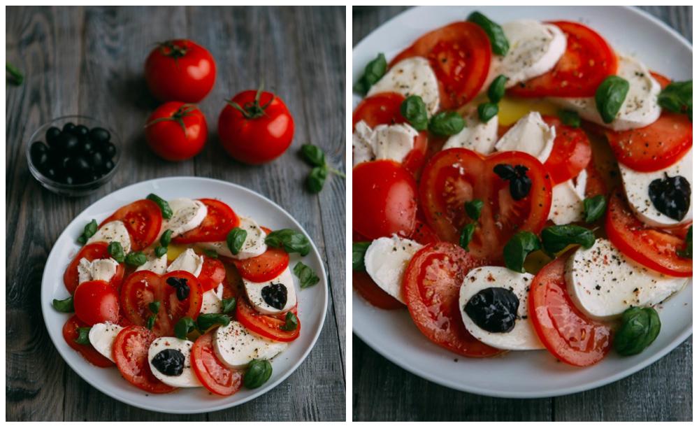 салат капрезе рецепт с фото пошагово с соусом