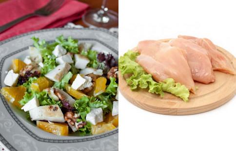 куриное филе к салатику