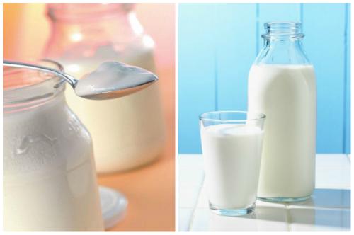 молоко и закваска