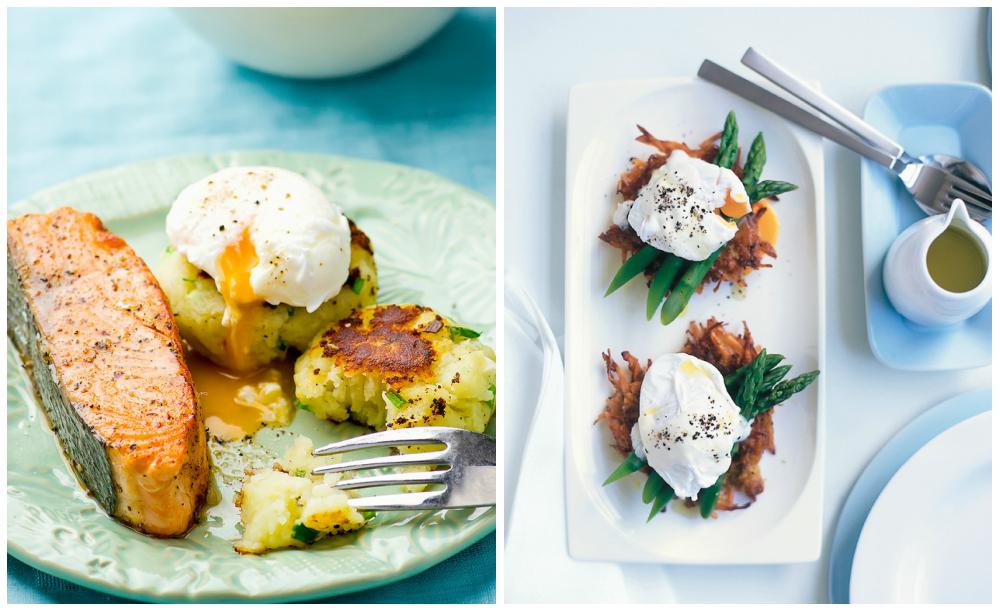 блюда с яйцами-пашот