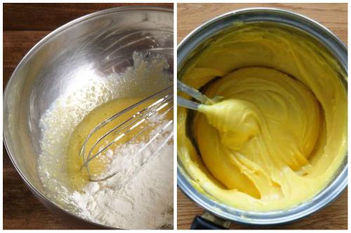 приготовление заварного крема