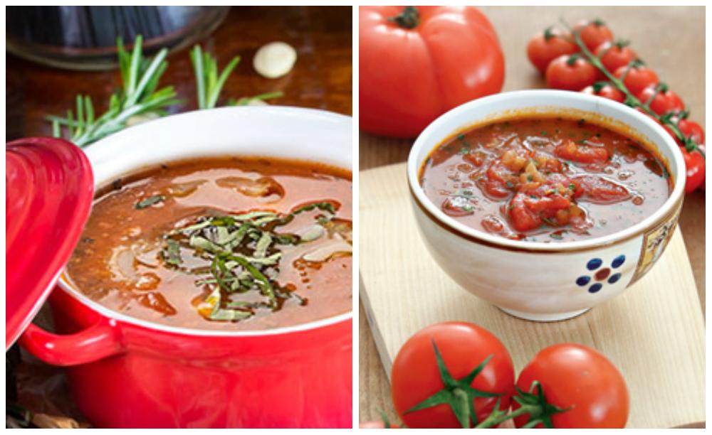 рецепты томатного супа с томатным соусом
