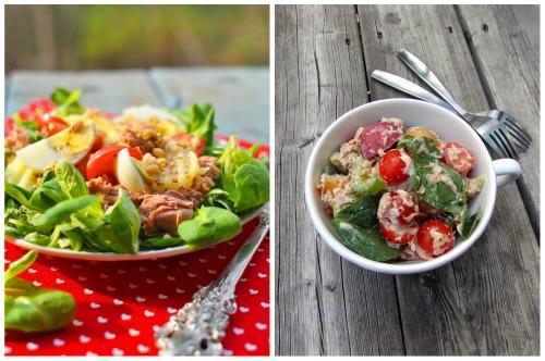 блюдо в двух вариациях