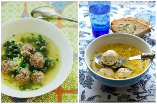 два первых блюда