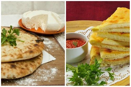 красивое и аппетитное кавказское блюдо