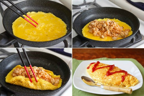 готовка omurice