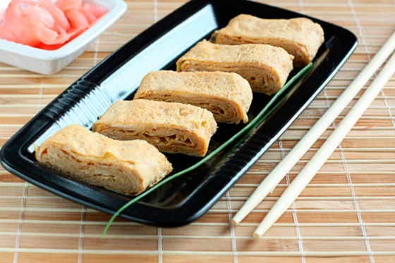 японский омлет тамаго-яки