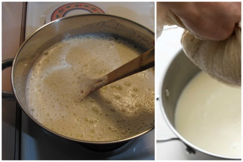 готовка соевого молока
