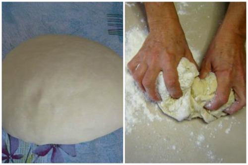 Тесто для будущей лапши
