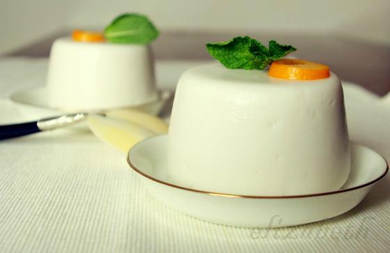 белоснежный десерт