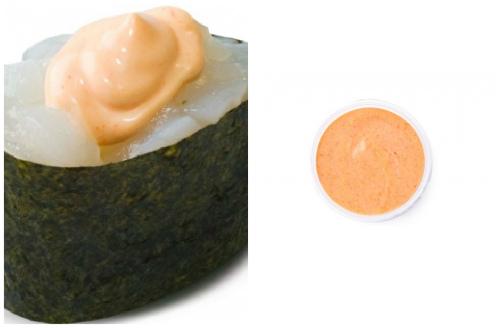 гункан под соусом