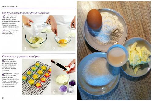 ингредиенты на пирожное