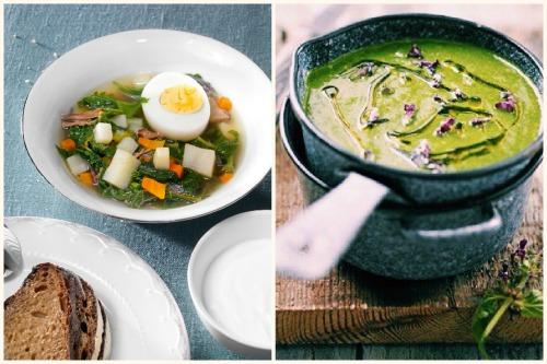 крапивный суп рецепт с фото