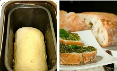 бутерброд из чиабатты