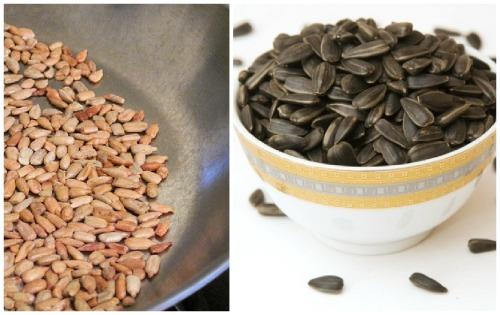 чищенные семена подсолнечника
