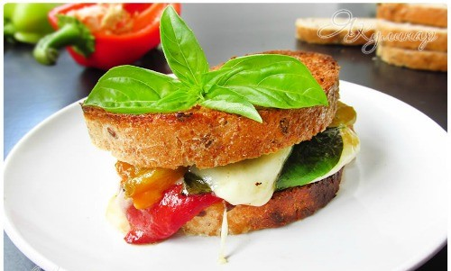 кростини сандвич