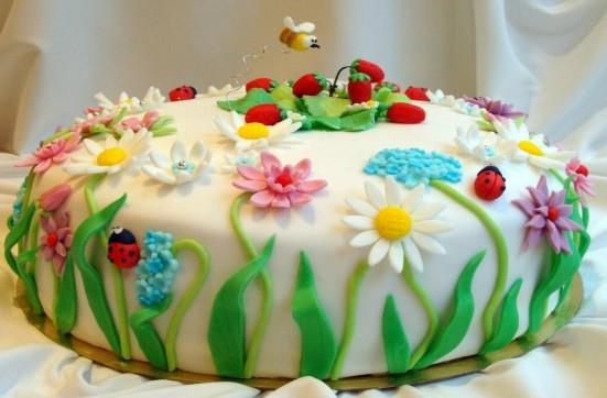 Как сделать украшение из мастики для торта в домашних 737