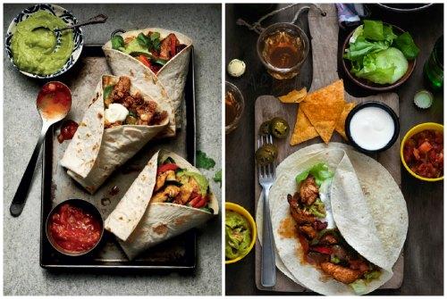 сытное мексиканское блюдо