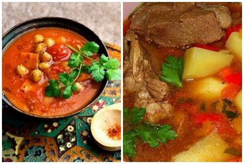 аппетитный суп с бараниной