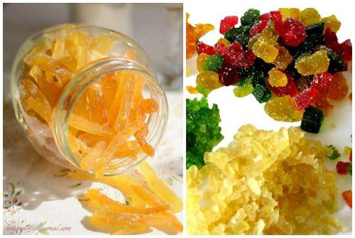 разновидности цукатов