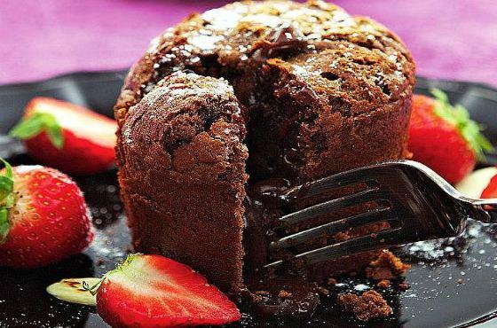 Шоколадные маффины  пошаговый рецепт с фото