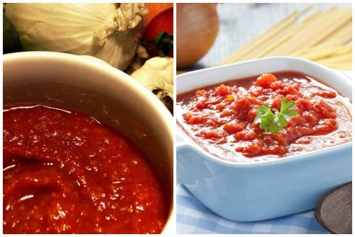 томатный вкус заправки