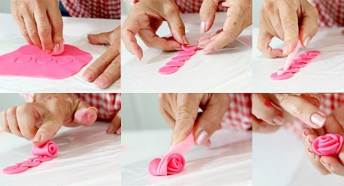 как сделать розочку