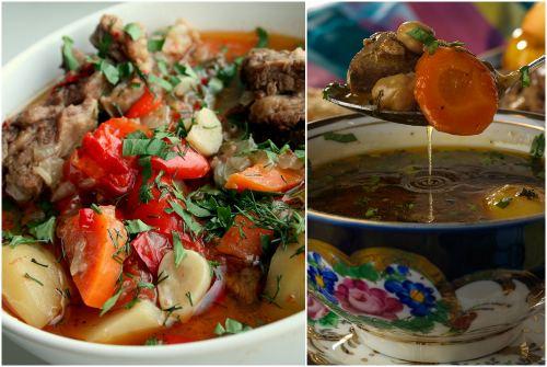 блюдо узбекской кухни