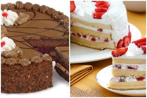 вариации десерта