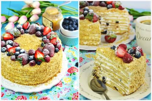 Красивый и вкусный тортик