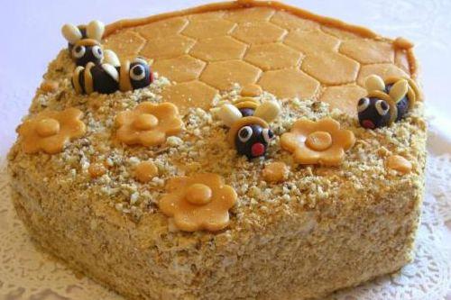 Оригинальный дизайн десерта
