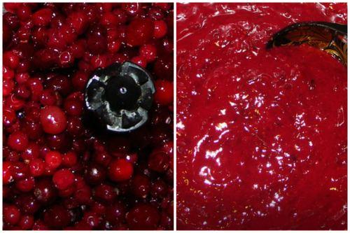 Приготовление ягодного пюре