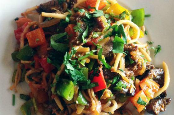 Монгольское блюдо