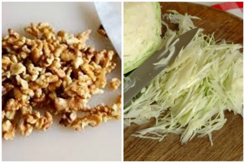 Орешки и капустка