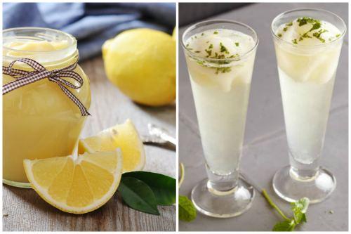 Zabaione с лимоном и мятой