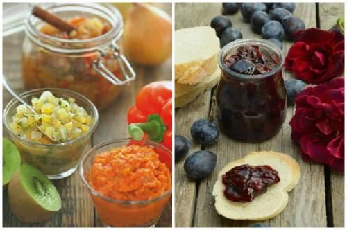 разнообразие ингредиентов