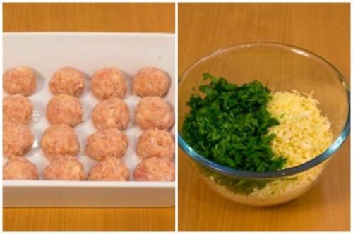 Заготовочки и ингредиенты для соуса