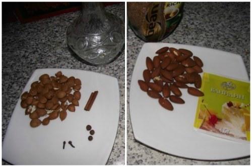 Ингредиенты для приготовления ликерчика