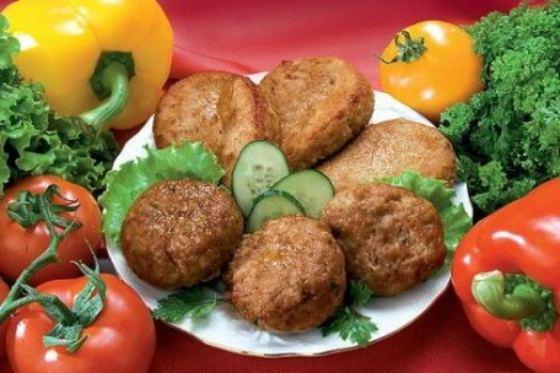 Овощное оформление блюда