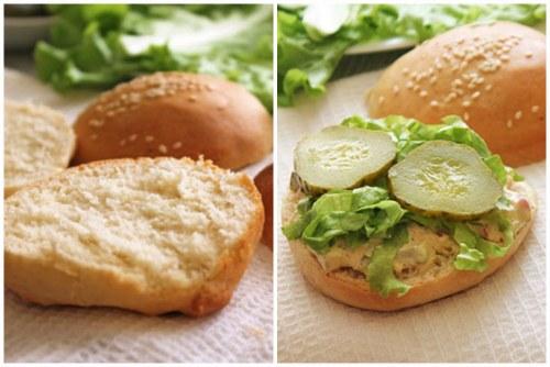 Булочки гамбургер в домашних условиях рецепт фото 138