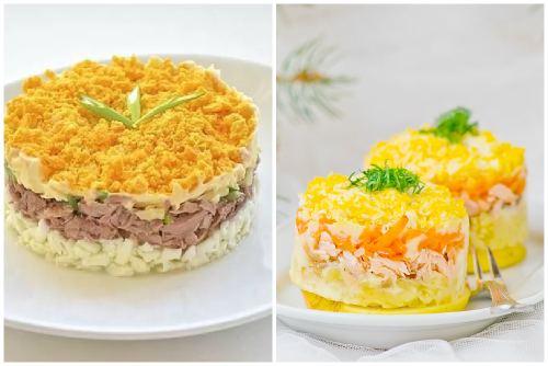 Миниатюрные салатики
