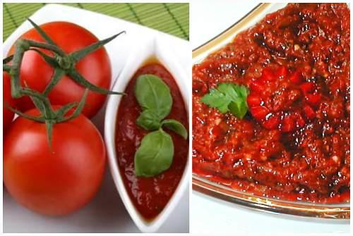 с томатами