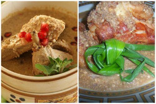 Мясное кавказское кушанье