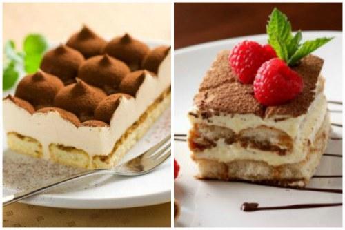 Оформление десерта