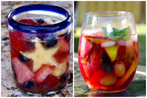 Разная нарезка фруктов